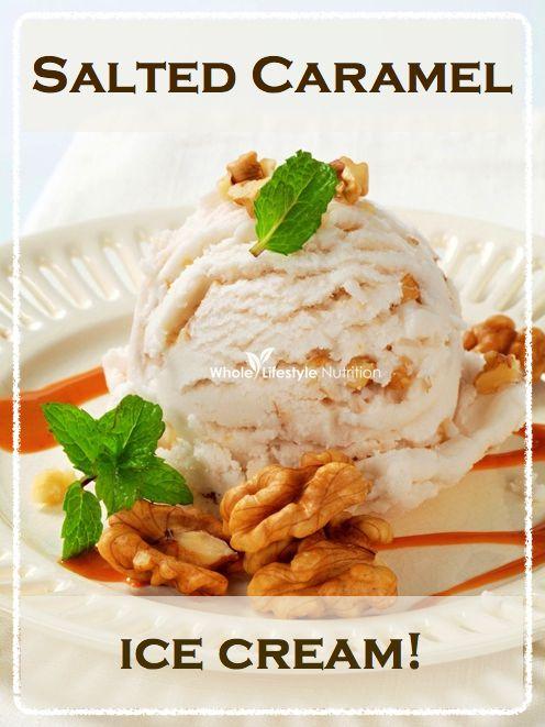 Organic Salted Caramel Ice Cream | Recipe