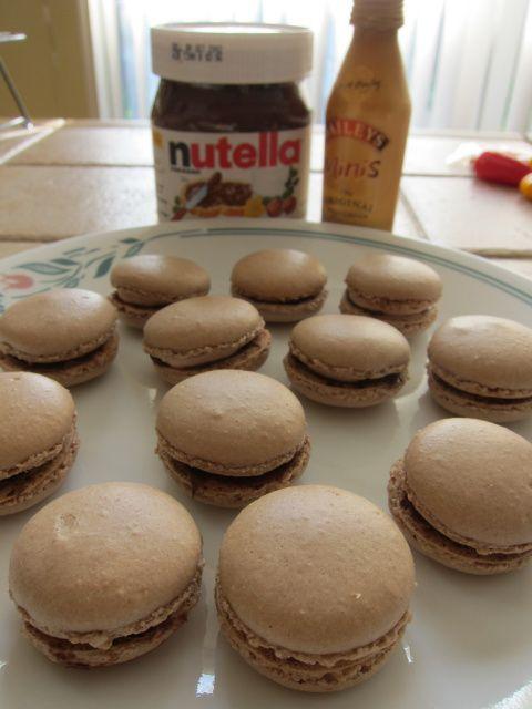 Nutella & Irish cream Macaron | YUM!!! | Pinterest