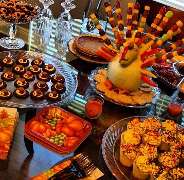 ... . Pilgrim hat cookies. Acorn a chocolates. Apple cider sangria