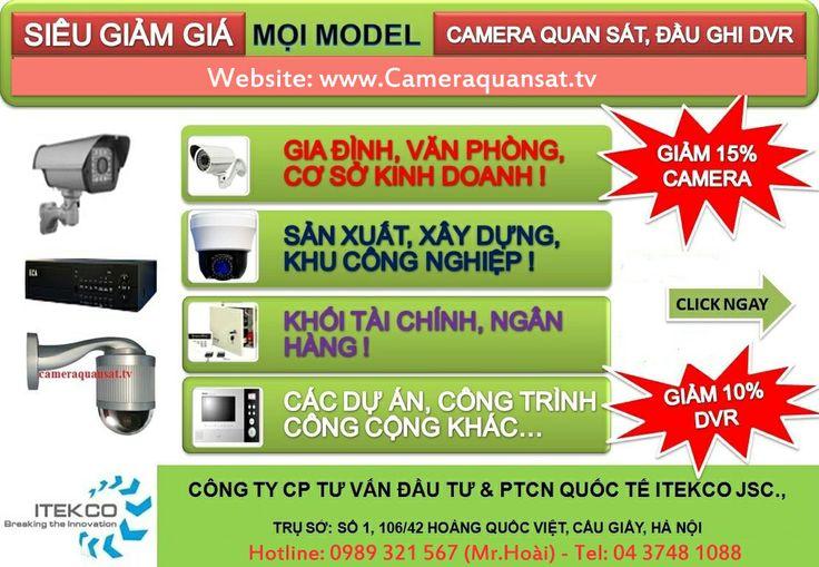 Cameraquansat.tv xin giới thiệu chương trình khuyến mãi: lắp đặt camera quan sát chất lượng cao mà giá cả phải chăng và phù hợp với túi tiền của bất kì cá nhân hay tổ chức nào! ! http://cameraquansat.tv/vi/camera-gia-re