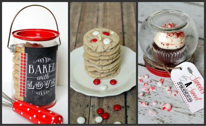 ... gift idea white chocolate peppermint m amp m cookies cupcake gift jar