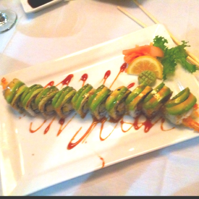 "Dragon roll ; sushi | ""Carne"" | Pinterest"