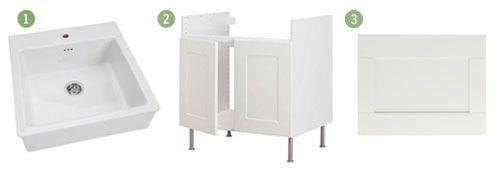 Undermount Sink Ikea : How to Undermount Ikeas Domsjo Sink Cape 27