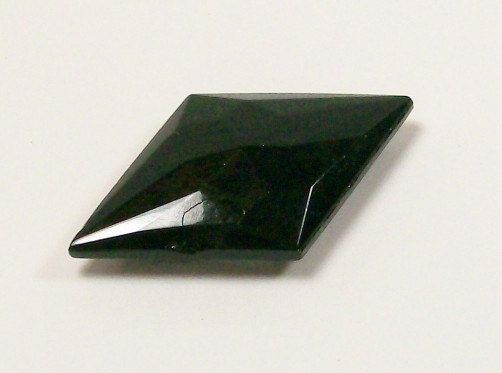 Unpolished Black Diamond Black Jet Cabochon Diamond