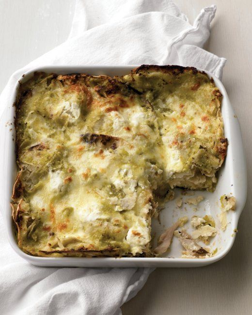 Tortilla Pie with Chicken. Toast the tortillas over a low flame or in ...