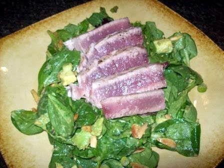 Asian Ahi Tuna Salad | My Recipes | Pinterest