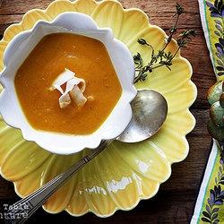caribbean pumpkin amp coconut cream bisque punchfork