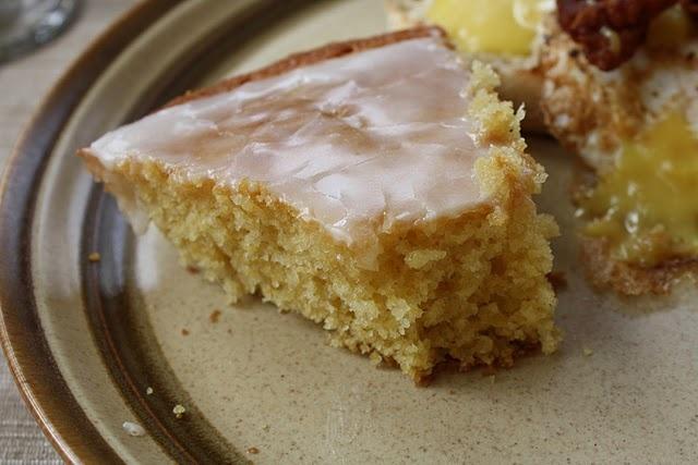 lemon cornmeal breakfast cake | Something to try | Pinterest