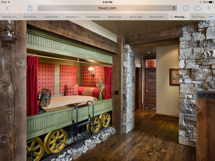 train bed train room decor pinterest