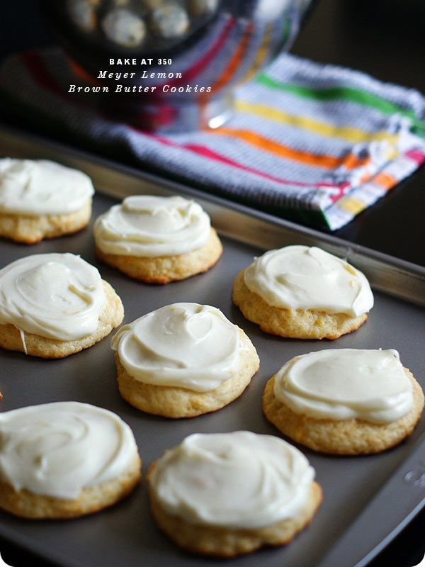 Meyer Lemon and Brown Butter Cookies & Other Favorite Lemon Recipes ...