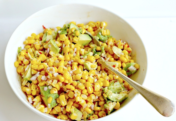 Corn and Avocado Salsa | Salsa | Pinterest