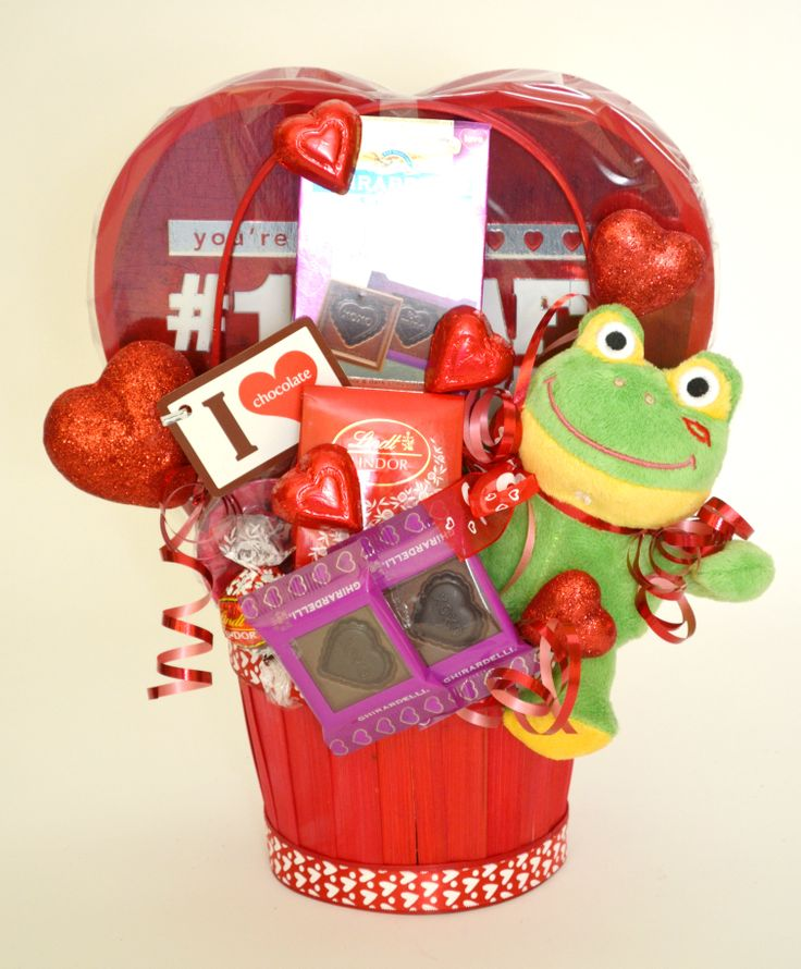 valentine's day basket ideas for him