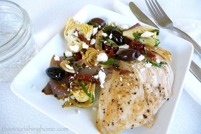Mediterranean Chicken – One Dish Recipe
