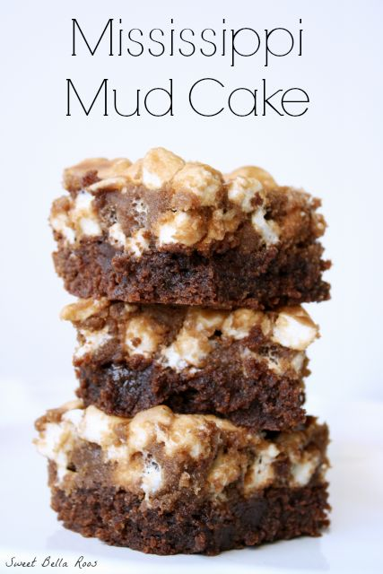 ... chocolatey deliciousness- Mississippi Mud Cake #recipe #chocolate
