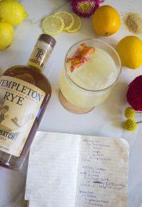 Templeton Rye Whiskey Sour | Wonderful worldly food | Pinterest