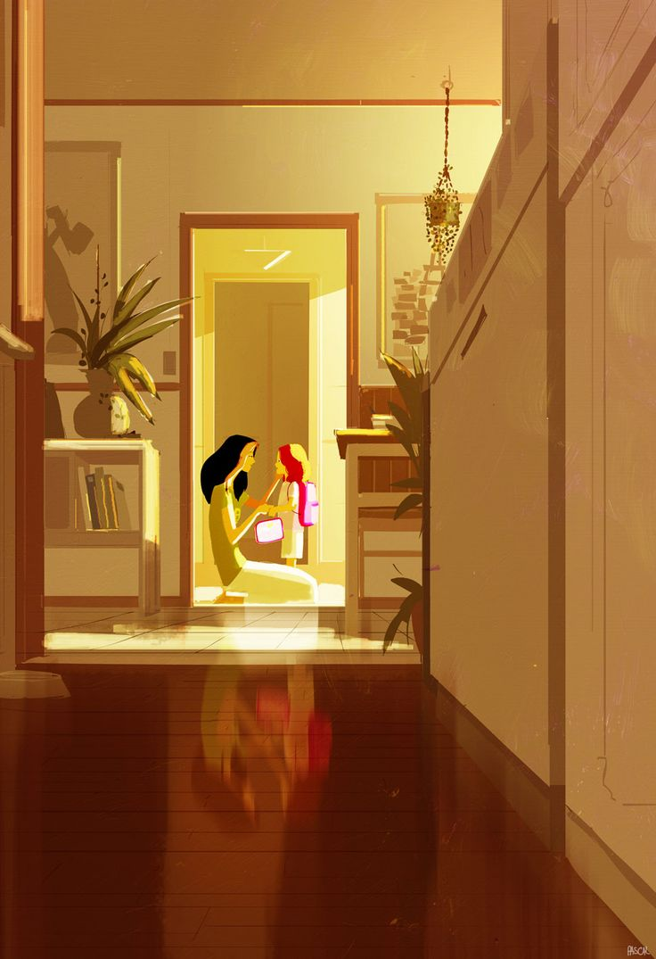 And then... they go to school. by Pascal Campion