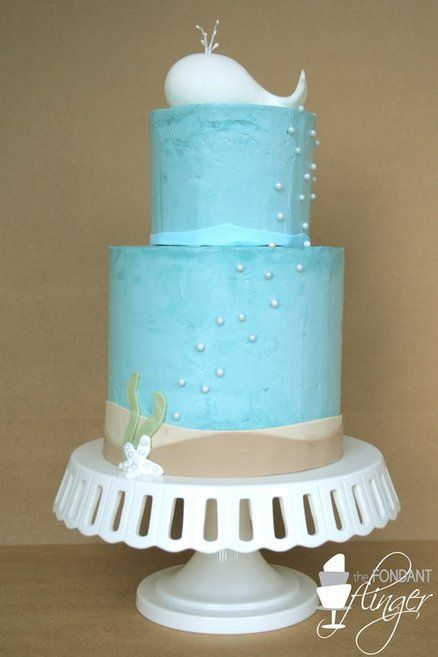 white whale baby shower cake baby shower whale pinterest