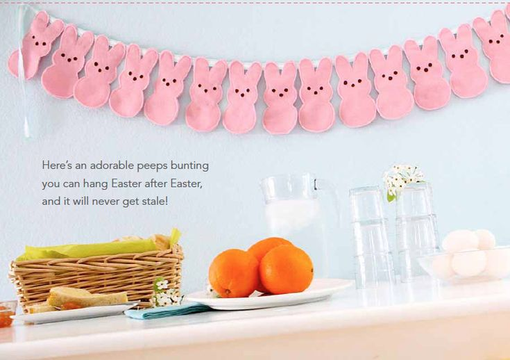 bunny bunting for next easter...looks easy too!