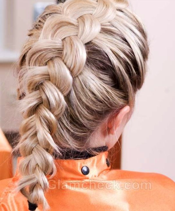 Inside Out French Braid Epic Hair Pinterest