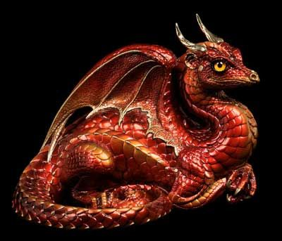 red fire dragon - photo #23