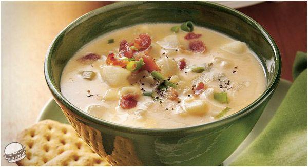 Cheesy Potato Soup.. | Recipe | Pinterest