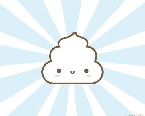 cute cloud vector wallpaper