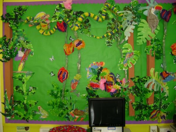 Jungle Themed Crafts For Preschoolers