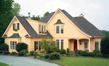 Exterior paint colors for tudor homes bungalows tudors victoria for Exterior paint colors for tudor homes