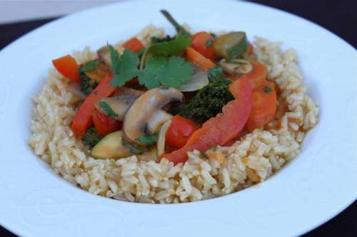 Vegetable Coconut Curry in a Hurry | Healthy eats, Healthy treats ...