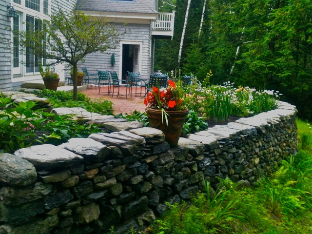 green island stonework houzz garden ideas pinterest