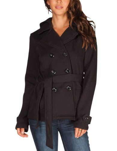 FULL TILT Womens Hooded Trench Coat   fashion and hairstyle