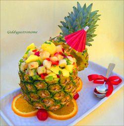 pineapple fruit bowl | good eats part 3 FOOD CARVING! | Pinterest