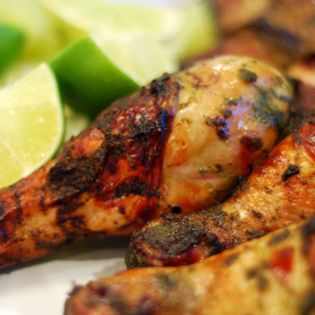 My Sisters Phenomenal Grilled Green Chicken – The Foodee Project