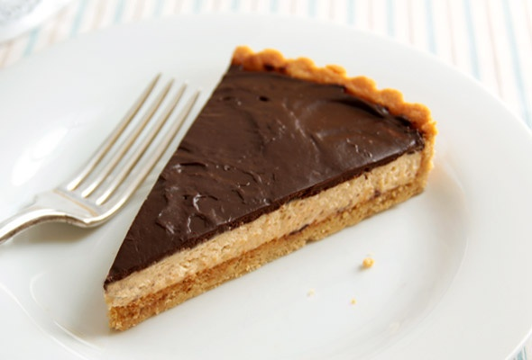 Chocolate-Peanut Butter Mousse Tart | Recipe