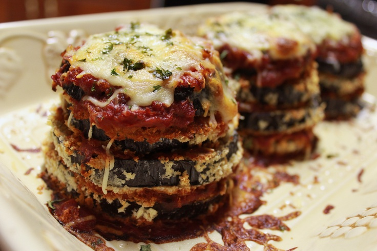 Light eggplant parmesan | My Food | Pinterest