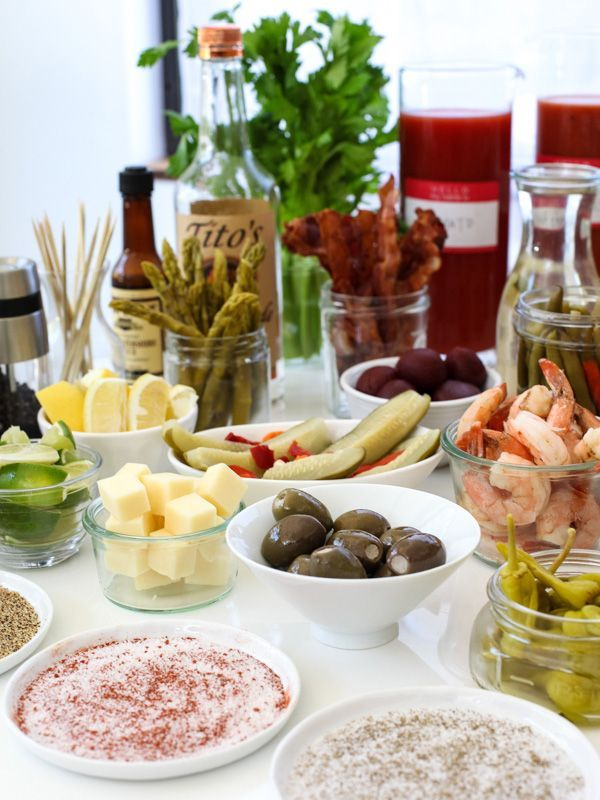 The Best Bloody Mary Recipe and Make Your Own Bloody Mary Bar   Recipe