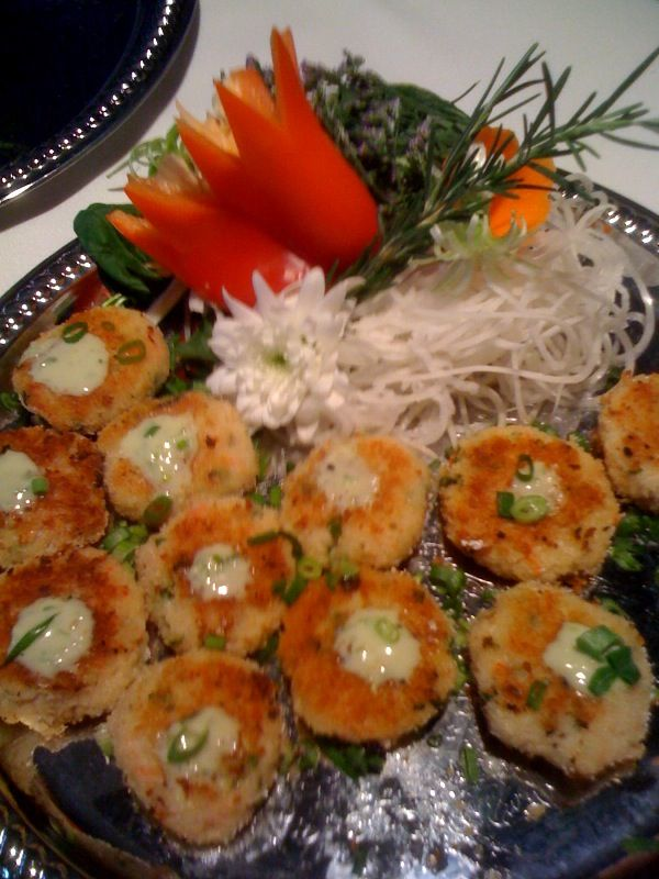 mini crab cakes appetizer   Food plans & recipes   Pinterest