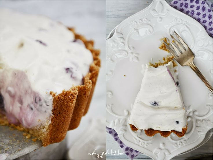 ... shortbread crust blueberry cream cheese pie with shortbread crust