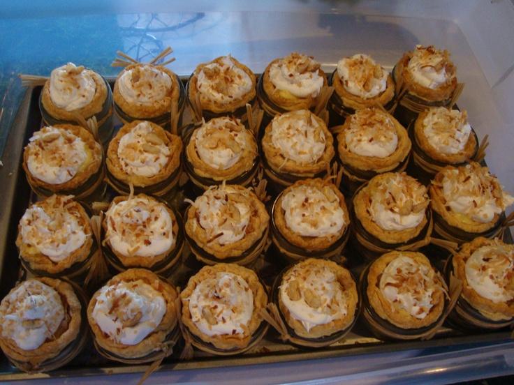 Coconut Cream Jar Pies Recipe — Dishmaps
