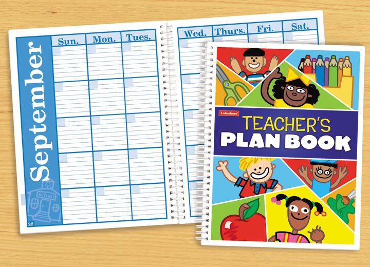 Teacher 39 S Plan Book Education Pinterest