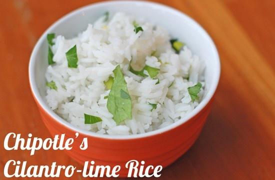 Chipotle's Cilantro Lime Rice Recipe | Recipes | Pinterest