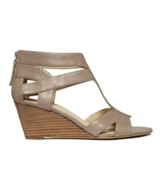 Nine West Shoes, Pipin Hot Wedge Sandals - SALE & CLEARANCE - Shoes