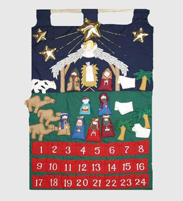 Plush Hanging Advent Calendar | Merry Christmas! | Pinterest