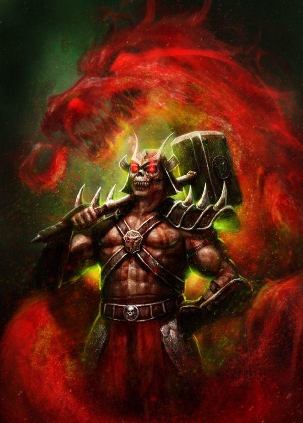 Mortal Kombat :Shao Kahn | Mortal Kombat | Pinterest