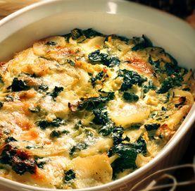 potato kale gratin The whole recipes is at http://japanesefoodrecipes ...
