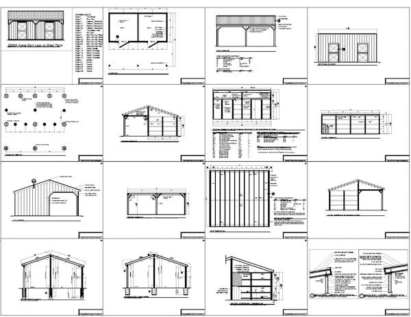 2 stall horse barn plans dream horse barns pinterest for Best horse barn plans