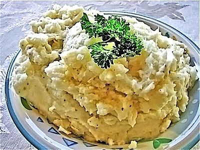 Garlic-Chive Mashed Potatoes | Char-Broil Thanksgiving | Pinterest