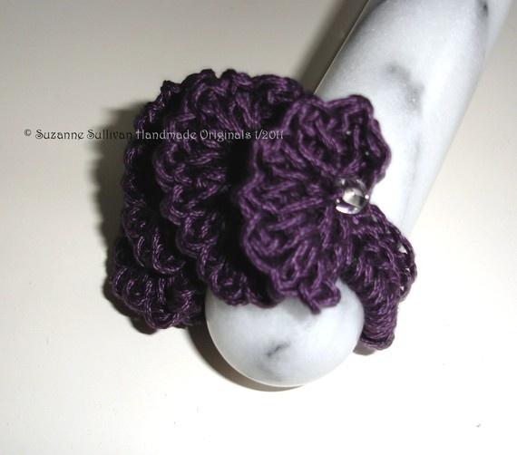 Crochet Hair Scrunchie Video : Scrunchie Crochet Pinterest