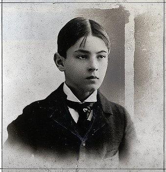 John Barrymore age nine