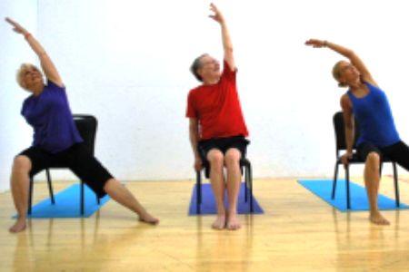chair yoga seniors